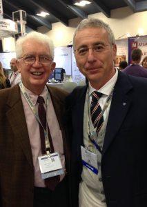 San Francisco 2015 -Alberto CAPRIOGLIO insieme alla leggenda dell'ortodonzia Bob WILLIAMS
