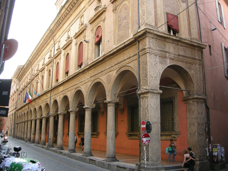 Bologna_palazzo_malvezzi_campeggi evento prof Caprioglio