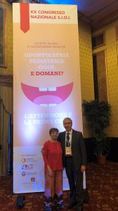 Congresso SIOI Prof. Alberto Caprioglio con la Dott.ssa Claudia Caprioglio