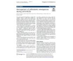 Caprioglio A. et al. - PIO 2020 - Management of orthodontic emergencies during 2019-NCOV