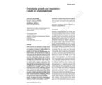 Craniofacial growth and respiartion: a study on an animal model