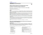 """""""Influence of facial components in class III malocclusion esthetic perception of orthodontists, patients, and laypersons"""""""