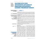 Halitosis with fixed orthodontic appliance vs removable orthodontic aligners: preliminary results